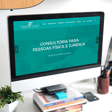 Ferreira Advogados | <b>SITE + MÍDIAS SOCIAIS</b>